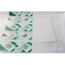 Лейкопластырь на нетканой основе для соединения краев ран, 6 мм х 38 мм, 6 шт