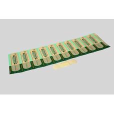 Лейкопластырь  на нетканой основе /бесцветный/, 1,9 см х 5,5 см