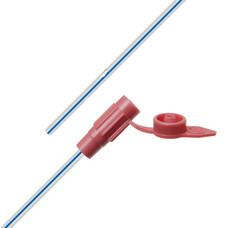 Катетер желудочный, силиконовый, с РКП, 18 CH / Fr, 1200 мм, закрытый конец
