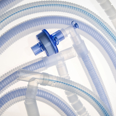 Контур дыхательный анестезиологический, коаксиальный, гофрированный, диаметр 22 мм, длина 180 см, с мешком б /л 2 л и лимбом 90 см