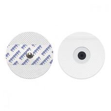 Круглый твердогелевый электрод на вспененной основе, взрослый, размер 50 х 55 мм, 50 шт
