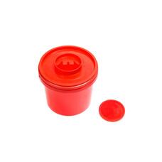 Емкость - контейнер 1,0л круглый с иглосъемником 150 шт