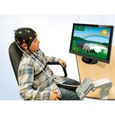 Оборудование для тренинга с биологической обратной связью / БОС / и нейробиоуправления