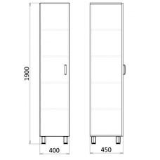 Медицинский шкаф для документов, МФ3-ШМЛ-01 / 13243