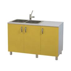 Лабораторный стол с мойкой МФ3-ТМ-10 / 13275