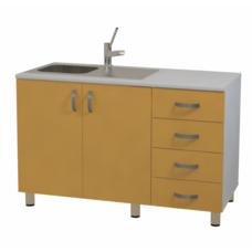 Лабораторный стол с мойкой МФ3-ТМ-11 / 13278