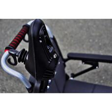 Инвалидная коляска с электроприводом Пони-130, со стальной рамой