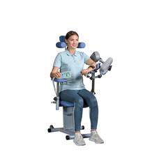 Тренажер для развития плечевого сустава ORMED FLEX 04
