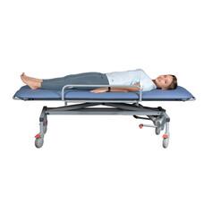 Каталка медицинская с регулировкой высоты для перевозки пациентов