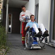 Лестничный подъемник ступенькоход для инвалидов SANO PT Uni 130