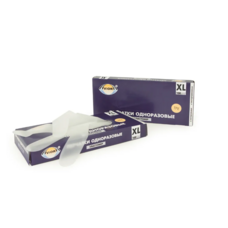 Перчатки эластомерные, Aviora, одноразовые, размер XL, 100 шт