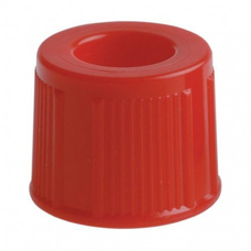 Крышка к пробирке 13 мм, цвет красный, 1000 шт
