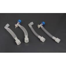 Трубка дыхательного контура, гофрированный, поворотный, 150 шт
