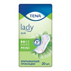 Tena Lady Slim Mini прокладки урологические, 20 шт