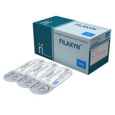 Материал хирургический шовный рассасывающийся, полидиоксанон монофиламентный FILAXYN