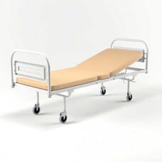 Передвижная медицинская кровать кпп-01-ЕЛАТ с матрасом