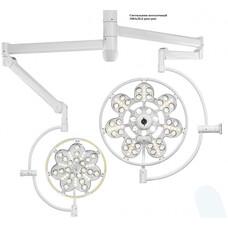 Потолочный медицинский светильник Эмалед 500 / 300