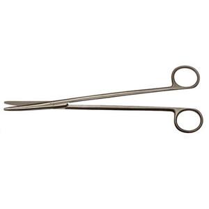 Ножницы для рассечения мягких тканей в глубоких полостях, прямые 280 мм
