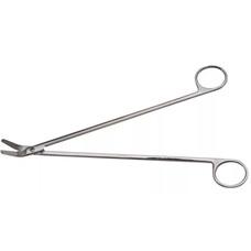 Ножницы сосудистые, вертикально-изогнутые под углом, 250 мм