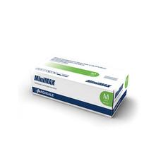 Перчатки медицинские латексные MiniMAX смотровые 100шт размер S