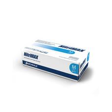 Перчатки медицинские нитриловыеNitriMAX смотровыеголубые 100шт L