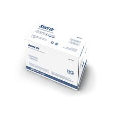Перчатки медицинские латексные стерильные NG Start St c полимерным покрытием 80шт размер XL