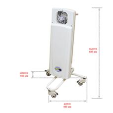 Облучатель-рециркулятор воздуха ультрафиолетовый бактерицидный / ДЕЗАР-КРОНТ / 801п  передвижной