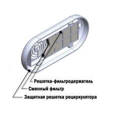 """Фильтр воздушный сменный ФВС-""""КРОНТ"""