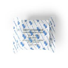 Бинт когезивный без латекса в групповой упаковке , 10 м х 4 см 10 шт