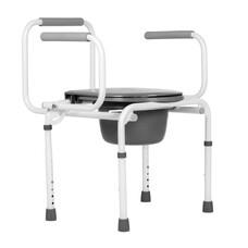 Санитарный стул Ortonica ТU 3 / РФ / с черной ручкой