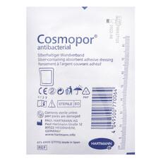 COSMOPOR Antibacterial Самокл. серебросодержащ. повязки /DryBarrier/ 15 * 6 см, 25 шт.