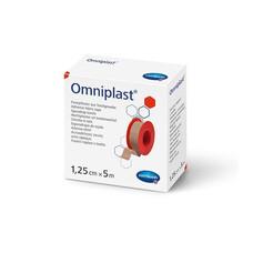 OMNIPLAST фикс. пластырь из текстильной ткани /цвет кожи/ 1,25см*5м 1шт.