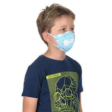 KN95 респиратор детский голубой (степень защиты FFP2)