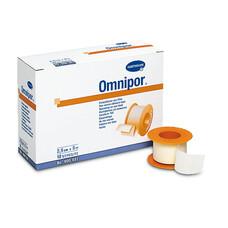OMNIPOR фикс. пластырь из нетканого матер. /белый/ 2,5см * 5м, 12шт.