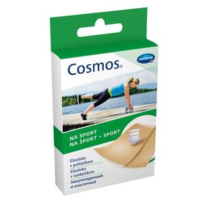 COSMOS sport пластырь-пластинки из полиуретановой пленки, 20шт, 1.9*7,2см