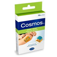 COSMOS kids пластырь-пластинки для детей с рисунком, 10шт. 6*10см