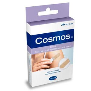 COSMOS sensitive пластырь для чувствительной кожи, 20шт, 1,9*7,2см.