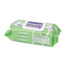 Микробак готовые салфетки, упаковка fiow - pack с крышкой, 80 штук