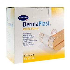 DERMAPLAST textile elastic эластичный гипоаллерг. пластырь 5м*6см