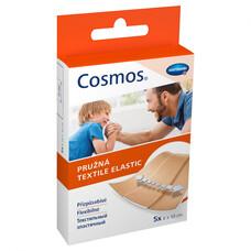 COSMOS textill elastic пластырь эластичный цвета кожи 5 шт, 6*10см