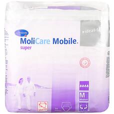 MoliCare Mobile super - Моликар Мобайл супер - впитывающие трусы размер M, 2шт