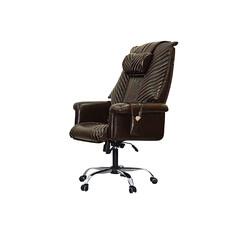 Офисное массажное кресло EGO President EG1005 Шоколад / Арпатек /
