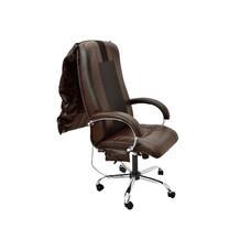 Офисное массажное кресло EGO BOSS EG1001 ШОКОЛАД / Арпатек /