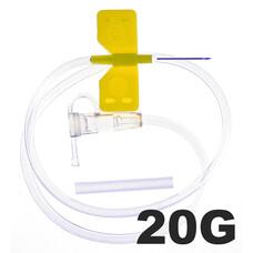 Игла - бабочка для вливания в малые вены SFM 20G 0,90x19 мм 100 шт