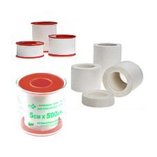 Лейкопластырь SFM Plaster Тканевая основа 1,25 х 500 см /пластиковая упаковка/ 12 шт