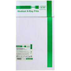 Пленка рентгенографическая SFM зеленочувствительная X - Ray GF, 20 х 40 см / 100 листов