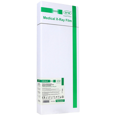 Пленка рентгенографическая SFM зеленочувствительная X - Ray GF, 15 х 40 см / 100 листов