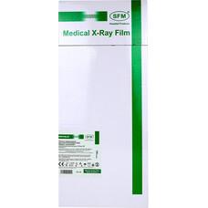 Пленка рентгенографическая SFM зеленочувствительная X - Ray GF, 18 х 43 см / 100 листов