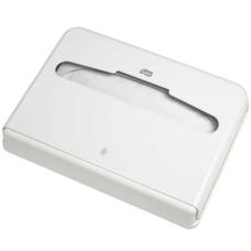 Tork  диспенсер для бумажных покрытий на унитаз белый