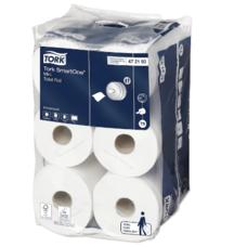 Tork Smartone туалетная бумага в мини рулонах белый